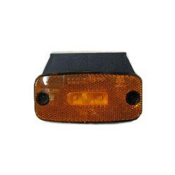 Габаритно-контурный фонарь Horpol EMA 20 LED с отражателем с кронштейном оранжевый