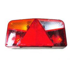 Задний комбинированный фонарь Horpol MD 33 треугольник-отражатель задний ход левый