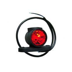 Габаритно-контурный фонарь Horpol HOR 77 LED рожок прямой короткий