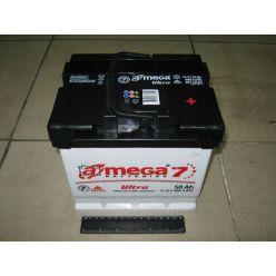 А-мега  Аккумулятор  6СТ-50 АЗ (0) Ultra+