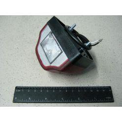BH. Подсветка номерного знака красная LED 12/24 V, красная