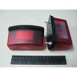 BH. Лампа для подсветки номерного знака,красная