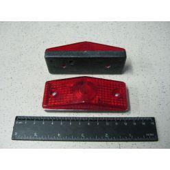 BH. Лампа контурная красная