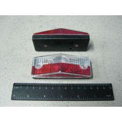 BH. Лампа контурная,бело-красная горизонтальная