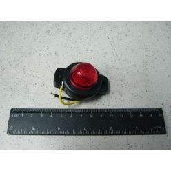 Лампа габаритная с фиксацией 12/24 V красная маленькая