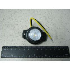 Лампа габаритная с фиксацией 12/24 V белая маленькая