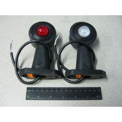 Лампа габаритная прямая,длинная с фиксацией 12/24 V