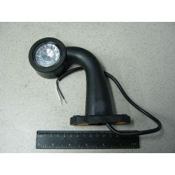 Лампа габаритная LED ломанная короткая 12/24V левая