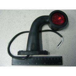 BH. Лампа габаритная LED короткая ломанная  12/24V правая