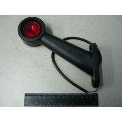 Лампа габаритная LED диагональная длинная, 12/24 V левая