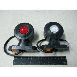 BH. Лампа габаритная LED прямая короткая, 12/24 V