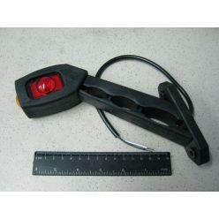 Лампа светодиодная LED диогональная длинная, левая