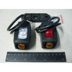 Лампа габаритная прямая короткая 12/ 24V,+боковая