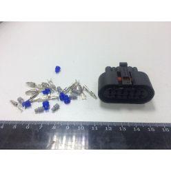 Корпус разъема с контактами AT3500,T90 (мама 6-pin) (пр-во  WEBASTO)