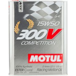 Моторное масло Motul 300V Competition 15W-50 - 2 л