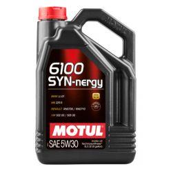 Моторное масло Motul 6100 Syn-nergy 5W-30 - 5 л