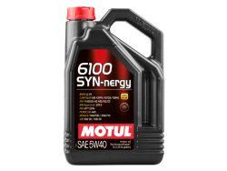 Моторное масло Motul 6100 Syn-nergy 5W-40 - 5 л