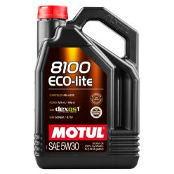 Моторное масло Motul 8100 Eco-lite 5W-30 - 5 л