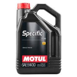 Моторное масло Motul Specific 0720 5W-30 - 5 л