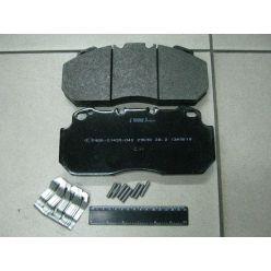 Колодки торм. диск. (компл. на ось) RVI Magnum,Premium, VOLVO B10/12, ROR (пр-во Lumag)