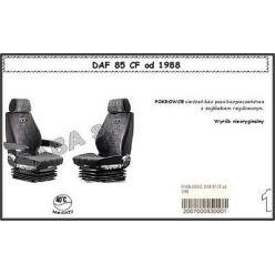 Чехол Saba на DAF 85CF от 1988