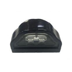 Подсветка номерного знака диодная черная
