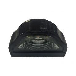 Подсветка номерного знака диодная черная 24В