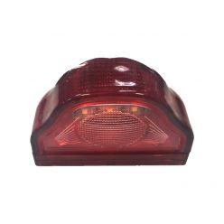Подсветка номерного знака диодная красная 24В