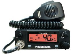 Радиостанция PRESIDENT TRUMAN AM/FM 12/24V (пр-во PRESIDENT)