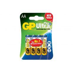 Батарейка GP AA (LR6) 1.5V щелочная Ultra Plus Alkaline 15AUPHM-2UE4