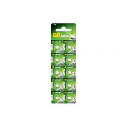 Батарейка GP AG3 Alkaline Button Cell 1,5V 192-U10 часы щелочная LR41