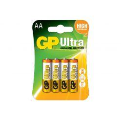 Батарейка GP AA (LR6) 1.5V щелочная Ultra Alkaline 15AUHM-2UE4