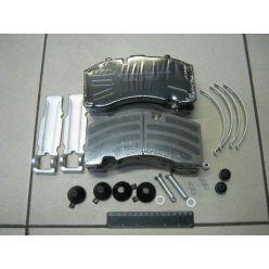 Колодка торм. диск. E-BRAKE (компл. на ось) BPW RS-SB 4309T (пр-во Winnard)