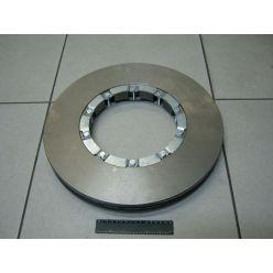 Диск тормозной с креплением DAF CF65/75/85,XF95 (пр-во Juratek)
