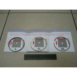 Кольца поршневые 085.00мм (STD) 2,00x2,00x4,00 (пр-во Vaden)