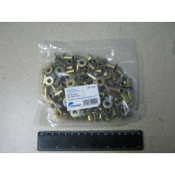 Заклепка 8х15 накладки барабаного тормоза (трубчатая) (100 шт.) (TEMPEST)