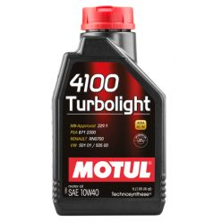 Моторное масло Motul 4100 Turbolight 10W-40 - 1 л