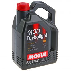 Моторное масло Motul 4100 Turbolight 10W-40 - 4 л