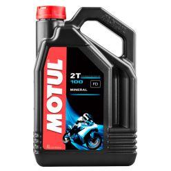 Моторное масло Motul 100 2T - 4 л