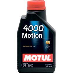 Моторное масло Motul 4000 Motion 15W-40 - 1 л