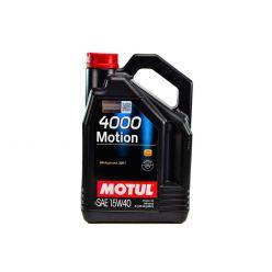 Моторное масло Motul 4000 Motion 15W-40 - 4 л