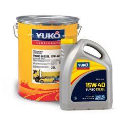 YUKO. Масло моторн. YUKO TURBO DIESEL 15W-40 API CD/SF 18кг ойлбокс 20л