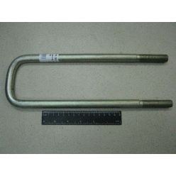 КСМ. Стремянка рессоры задней L=320 гайка М16х1,5 сталь