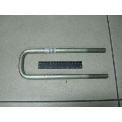 КСМ. Стремянка рессоры задней L=295 гайка М16х1,5 сталь