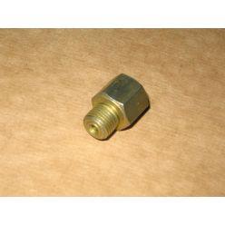 Штуцер цилиндра торм. ГАЗ-3302 переходник (нар.М12х1.25, вн.М10х1.25) (пр-во ГАЗ)