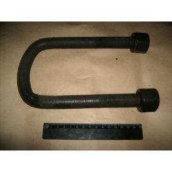 Стремянка рессоры передней КрАЗ М22х1,5 L=190 с гайк. (пр-во Автомат)