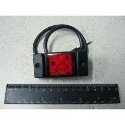 Лампа що відображає мала LED, 12/24 V червона