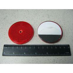 BH. Оборудование светоотражательное красное с отв.