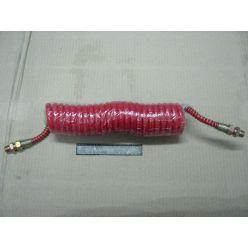 Шланг пневматичний силіконовий М16 червоний