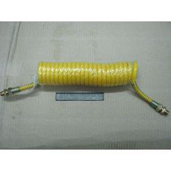 Шланг пневматичний силіконовий М16 жовтий